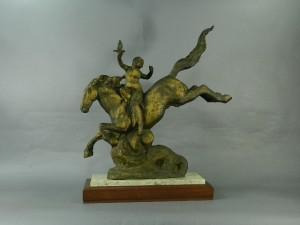 北村西望の騎馬像
