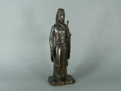 森山朝光 鋳銅(ブロンズ)聖観世音菩薩立像