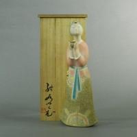 紺谷力 閼伽(美人)塑造彩色人形