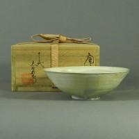 十二代 中里太郎右衛門(窯)唐津 粉引 平茶碗