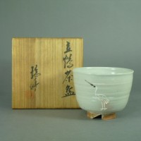 河合瑞豊 立鶴茶碗