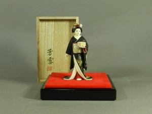 宮芳雪 節分祭(着物美人)