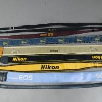 カメラストラップ Nikon 7本 Canon 1本 CONTAX 1本