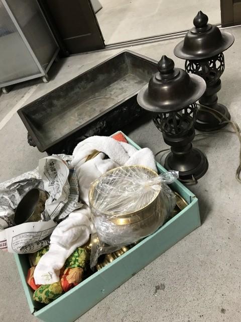 銅器 水盤 仏器 仏具