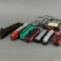 バックマン BACHMANN HOスターターセット 鉄道模型 HOゲージ サンタフェ ディーゼル機関車 貨車